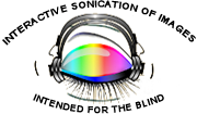 Interactive sonication of images intended for the blind