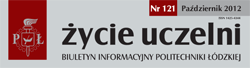 Życie Uczelni - Newsletter of the Lodz University of technology