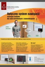Optyczny system nawigacji - poster